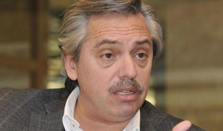Alberto Fernandez denied that La Cámpora has populated the list for the Elections