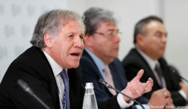 Almagro charges against Maduro and Bachelet's statements on his behalf