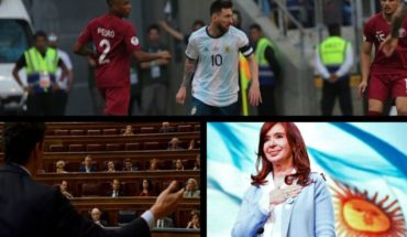 Argentina qualified for the quarter-finals of the Copa América, the absent ones in the candidate lists, the message of Cristina and much more...