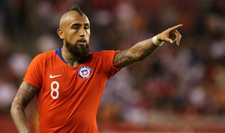 Arturo Vidal said that Claudio Bravo and Marcelo Díaz did not win alone America's Cups
