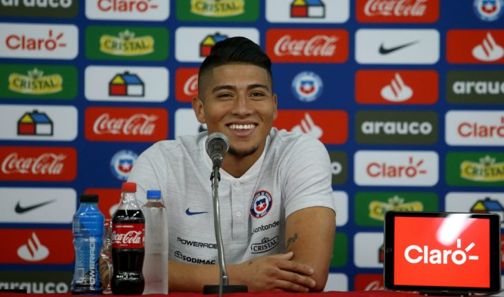 """Brayan Cortés: """"Ecuador is a strong team, with powerful players"""""""