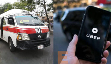 Cocotra sanctions with 7000 pesos to the public transport and to Uber with 59000