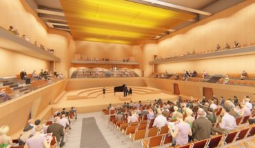 Concert hall in Santiago will have one of the best acoustics in the country