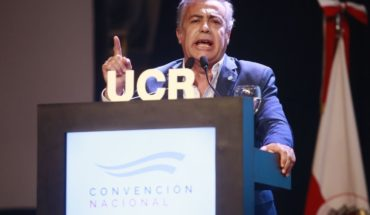 """Cornejo: """"Together for the change was ratified by the UCR"""""""