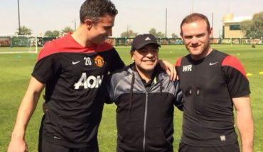Diego Maradona ran to lead Manchester United and criticized Pogba