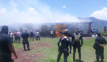 Explodedust, there is a wounded and property damage in Pajacuarán, Michoacán