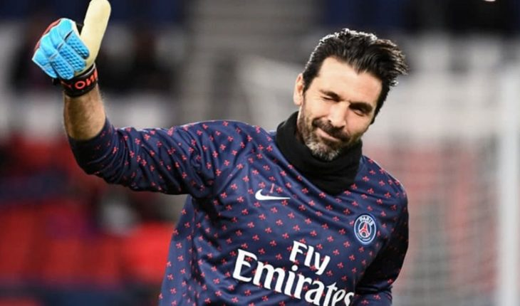 Gianluigi Buffon took leave of Paris Saint-Germain