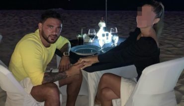 He recorded his partner's threats and reported him on social media