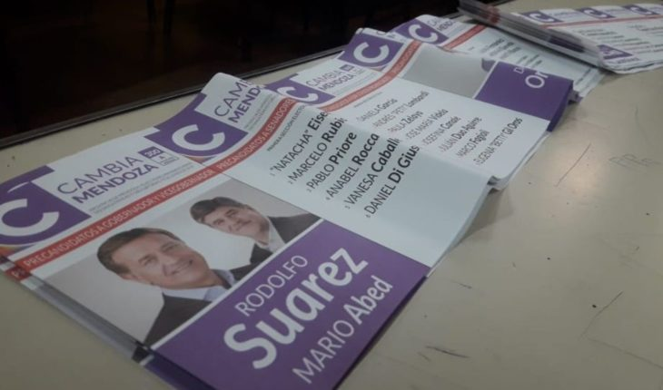 In Mendoza voted about 75% of the electoral register