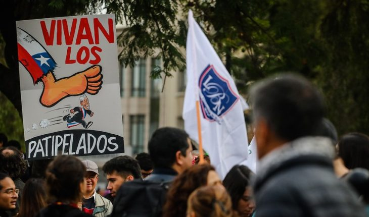 """""""It is unusual that the government does not even refer to the issue"""": Teachers ' College announces new mobilizations after positive balance of national unemployment"""