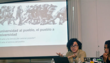 """It starts at the UMSNH Seminar """"Contributions to the construction of the political history of Mexico and the United States""""."""