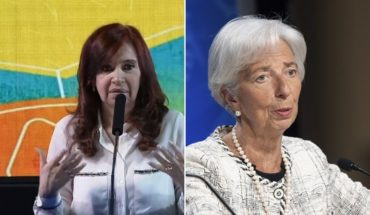 """Lagarde referred to Cristina Kirchner: """"People change if they are campaigning"""""""