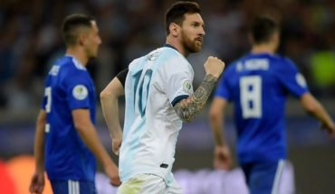 """Lionel Messi: """"I saw the wardrobe hurt but convinced to go out and win"""""""