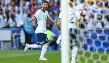 """Lionel Messi, self-critical: """"Not being my best America's Cup"""""""