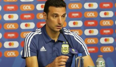"Lionel Scaloni: ""We are lucky enough to still be alive"""