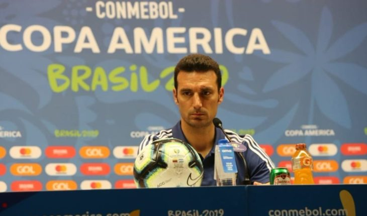 """Lionel Scaloni, focused on Brazil: """"We have to take it as a semi-final"""""""