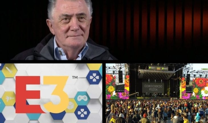 Lucho Avilés died, E3 2019 by Filo. News, Massa branded of failed MACRI, Festival emerging province live and more...