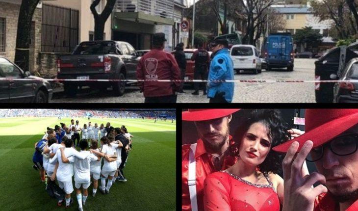 Macri with Vidal and Larreta, crime of Schoolies, Lammens candidate in Ciudad, Argentina vs. Scotland and more...