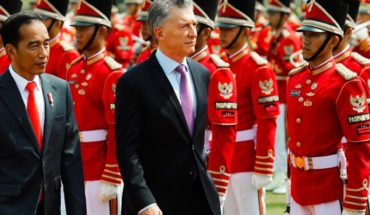 Mauricio Macri traveled to Japan to participate in the G20 summit