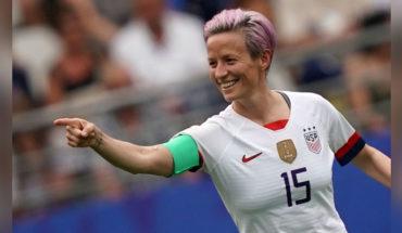 Megan Rapinoe, the activist captain of the U.S. national team