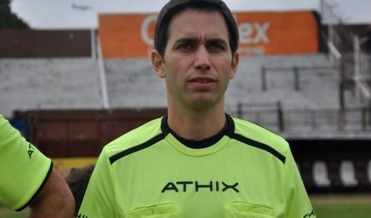 Ordered remand for referee Martín Bustos by grooming