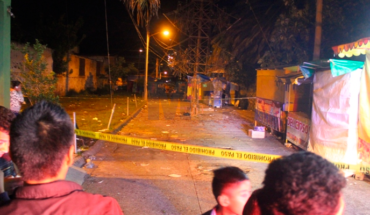 Patron's party ends with a dead man and a wounded man in Uruapan, Michoacán