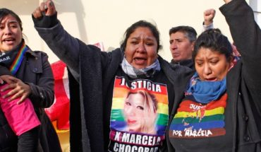 Perpetuates the author of the transfemicide of Marcela Chocobar in Santa Cruz