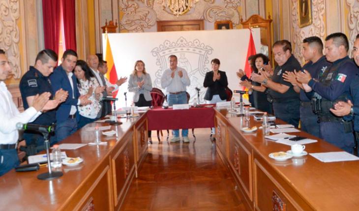 Raúl Morón New holder of the Intermunicipal Council of Public Security region Morelia
