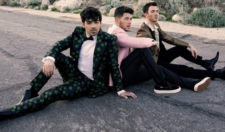 """The Jonas Brothers presented """"Happiness begins"""", their new album"""