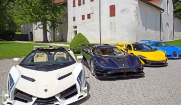 They auction off a fascinating collection of supercars from a dictator's son