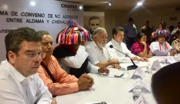 Towns of Aldama and Chenalhó, Chiapas, sign peace pact
