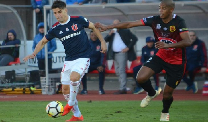 Universidad de Chile defeats Rangers for the second phase of the Chile Cup