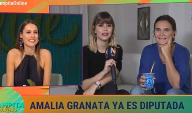 [VIDEO] Pampita and Amalia Granata discussed live over abortion