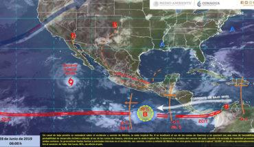 Very heavy rains with electric shocks in Puebla, Oaxaca and Veracruz