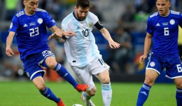 What does Argentina need to qualify for Copa America quarter-finals?