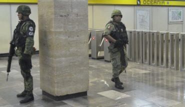 ¿Qué puede hacer la Guardia Nacional (y qué no) en el Metro?
