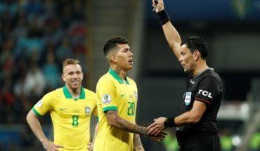 Árbitro chileno dirá presente en la final de Copa América: Roberto Tobar dirigirá el Brasil vs Perú