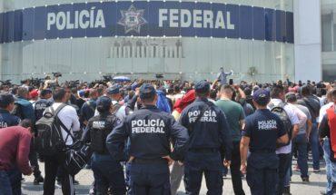 'Esperamos que pronto haya solución': policías federales