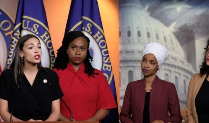 """""""El escuadrón"""": las mujeres congresistas que se enfrentan a Donald Trump"""