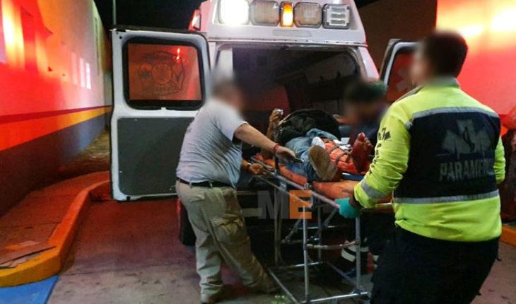 Albañil resulta herido al recibir cuatro impactos de bala, en Jacona, Michoacán