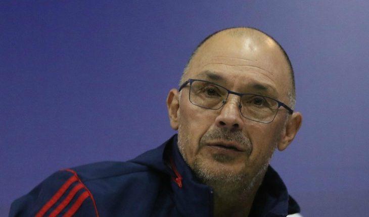 """Alfredo Arias por Marcos Riquelme: """"Buscamos una nueva cara para que el equipo pueda convertir"""""""