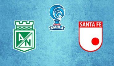 Atlético Nacional vs Santa Fe en vivo: Copa Águila 2019, octavos de ida