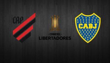 Atlético Paranaense vs Boca Juniors EN VIVO ONLINE: Copa Libertadores 2019, octavos