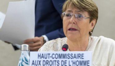 "Bachelet, ""profundamente impactada"" por trato a migrantes en EE. UU."