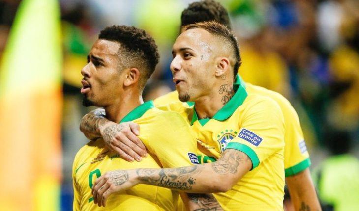 Brasil vs Perú: Everton, Gabriel Jesús y Richarlison le dan el título de la Copa América 2019 a la Verdeamarela
