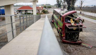 Bus de accidente en que murieron 6 personas en Mostazal circulaba con patente que no correspondía al chasis