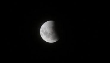 Detalles del eclipse lunar parcial que se podrá ver este martes