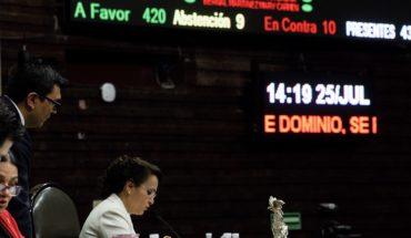 Diputados aprueban nueva ley de extinción de dominio