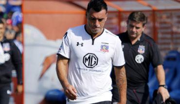 Esteban Paredes recibió el alta médica y podría reaparecer en Colo Colo
