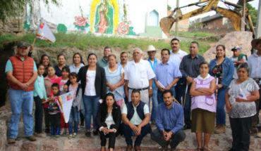 Gobierno de Puruándiro lleva introducción de drenaje en el manantial Ojo Santo